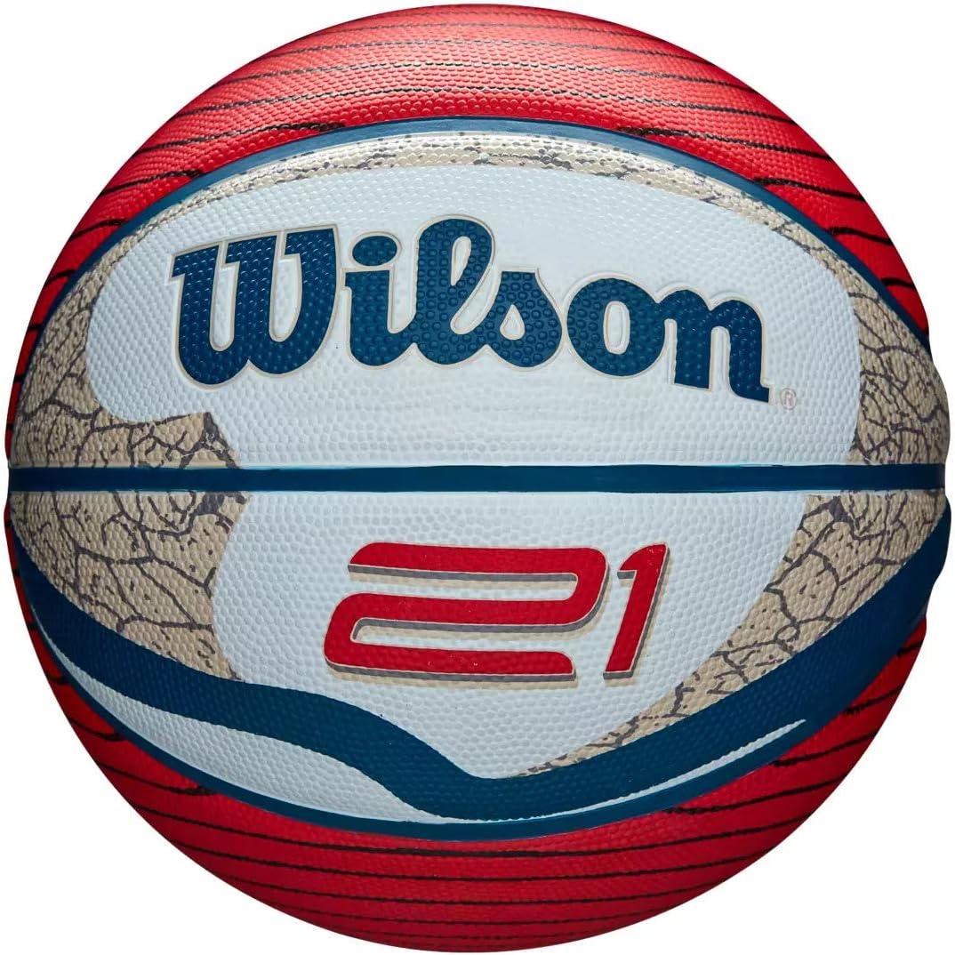 Red//White Wilson 21 Series Basketball 27.5
