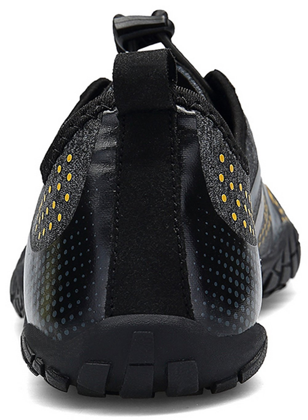JOOMRA Unisex Barefoot Water Shoes Breathable Quick Dry Gym Athletics for Running Walking Fishing Camp Outdoor Minimus Training Beach Aqua Shoes Black 9.5 US Women's / 8 US Men's by JOOMRA (Image #4)