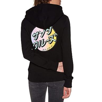 Amazon Com Santa Cruz Japanese Dot Pullover Hoody Clothing