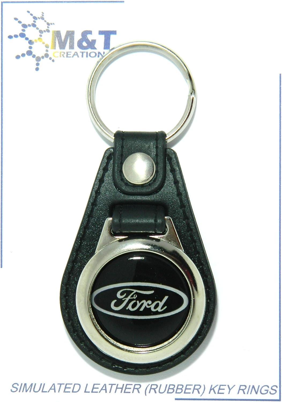 Schlüsselanhänger In Lederoptik Gummi Mit Medaillon Aus Kunststoff In 3d Auto