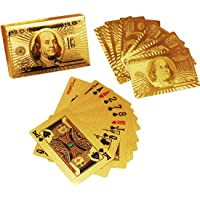 ROYALS Poker Playing Cards (24K Gold Plated)