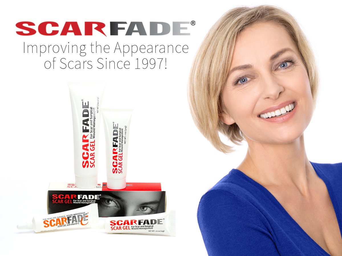 Scarfade Silicone Gel for Scar Repair - 15g