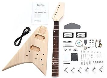 Rocktile 38311 - Kit de montaje para guitarra eléctrica estilo RR: Amazon.es: Instrumentos musicales
