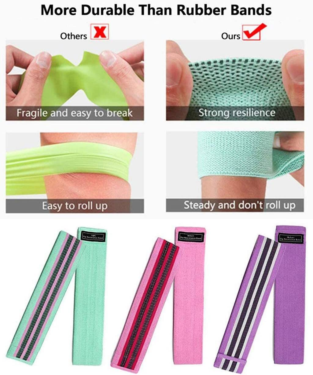 futurepost.co.nz Eaglease Resistance Bands Thick Anti-Slip ...