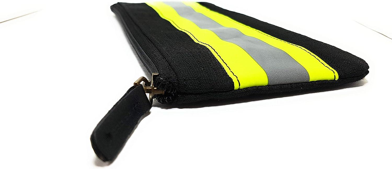 small pouch Retired Bunker Gear Turnout gear zippered pouch Bunker gear bag Zippered Pouch Firefighter Bag zipper wallet