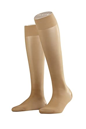 aa8864e79 Image Unavailable. Image not available for. Colour  Falke Support KH  Women s Knee Socks Skin ...