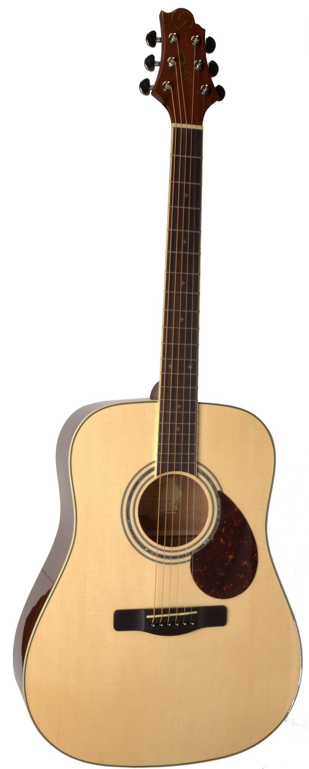 Samick Greg Bennett Design D5 Acoustic Guitar, Natural by Samick