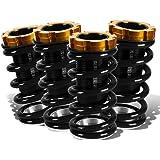 DNA Motoring COIL-HC88-T33-BK Kit de bobina de suspensión sobre manga, color negro