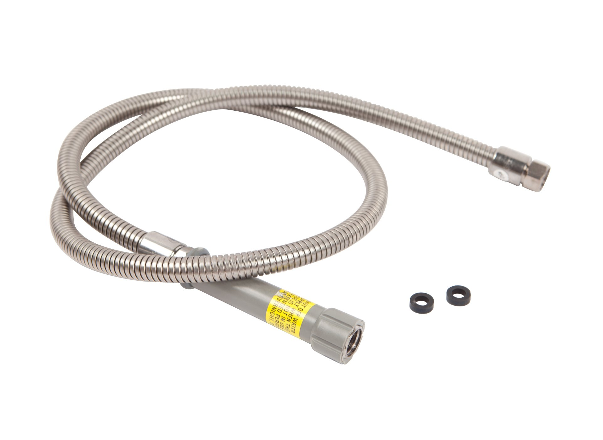 T&S BRASS B-0060-H 60'' Flexible Stainless Steel  Hose