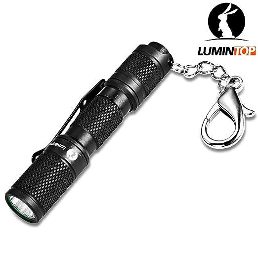 13 opinioni per LUMINTOP Tool AAA 110 Lumen AAA LED Torcia Portachiavi