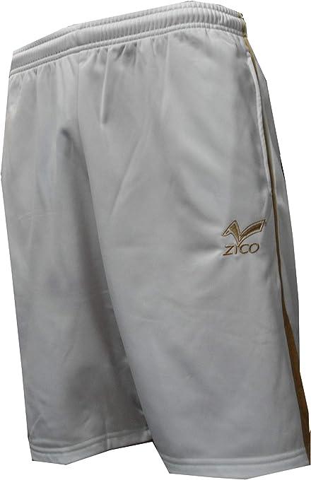 ZICO ESPAÑA pantalón Corto Hombre con Bolsillos Bermuda Deportiva Shorts Color Blanco -Oro (M): Amazon.es: Deportes y aire libre