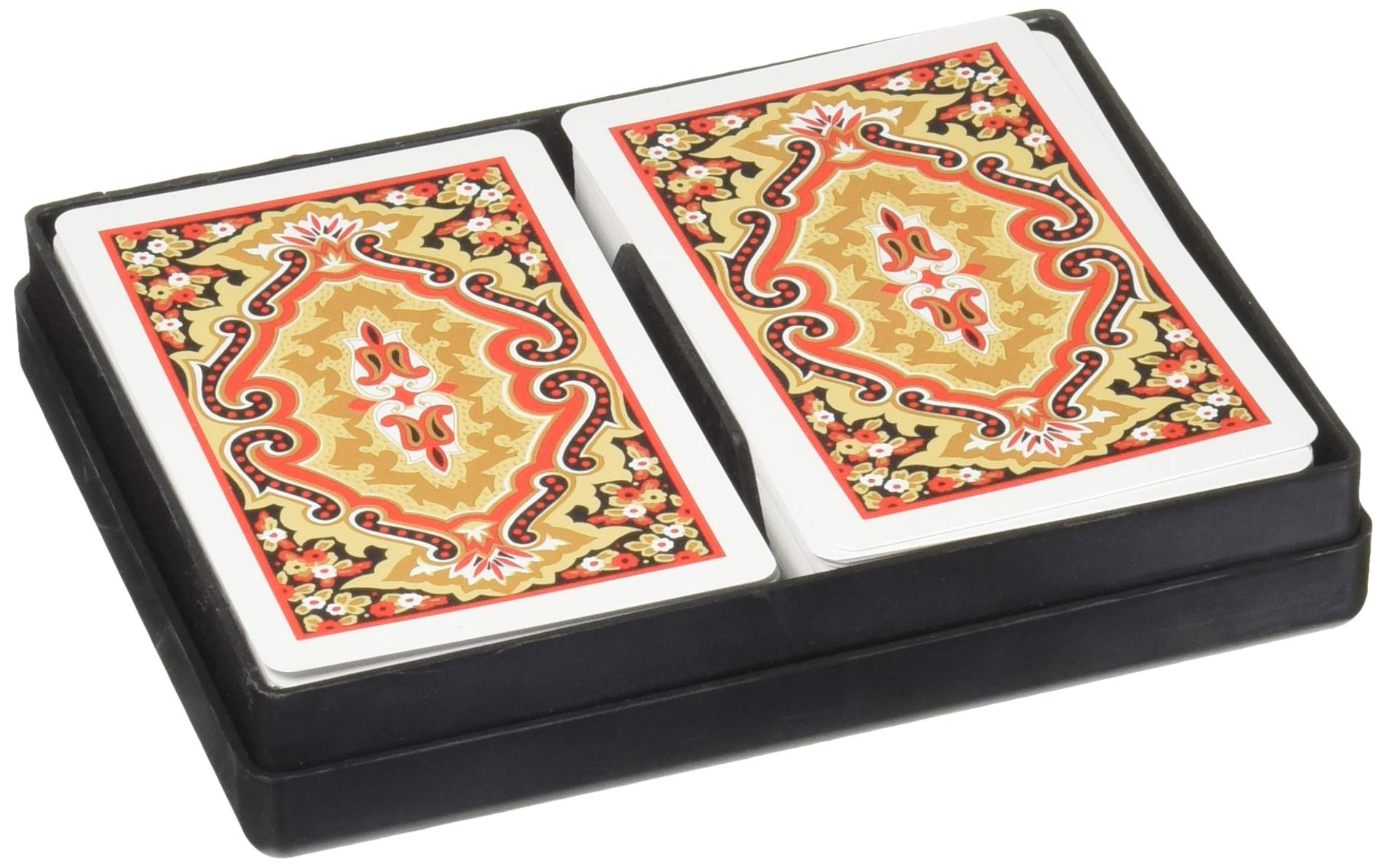 KEM Paisley Bridge Size Jumbo Index Playing Cards