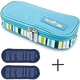 LOKEP Trousse de voyage isotherme pour diabétique avec 2packs de glace
