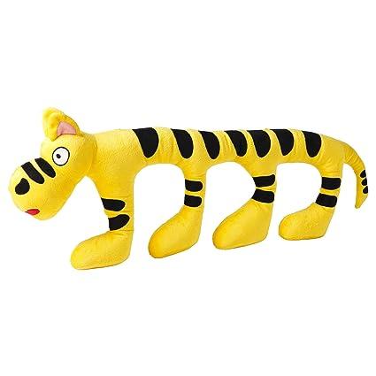 Amazon Com Ikea Sagoskatt Soft Plush Toy Yellow Cat Tiger 29 Inch