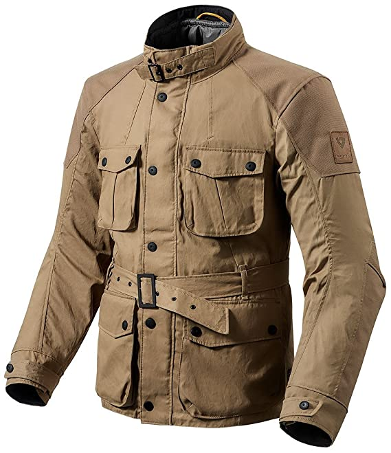 FJT197 - 0760-M - Rev It Zircon Motorcycle Jacket M Sand: Amazon.es: Coche y moto