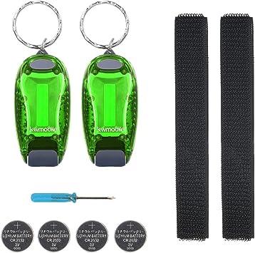 kwmobile Set de 2 Luces LED de Seguridad - luz para Running - para ...