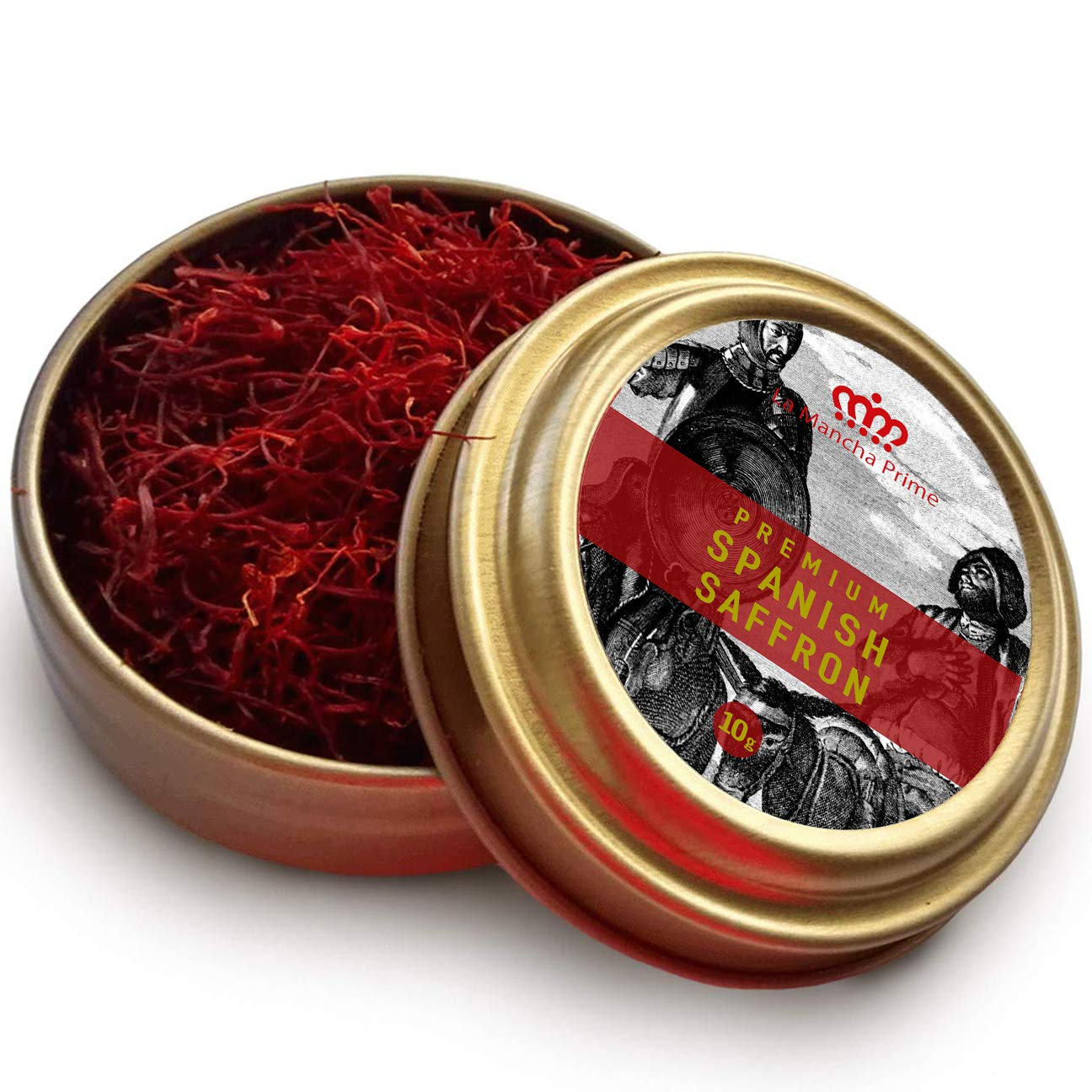 La Mancha Prime 10 Gram (0.35 oz) All RED Premium Coup Spanish Saffron