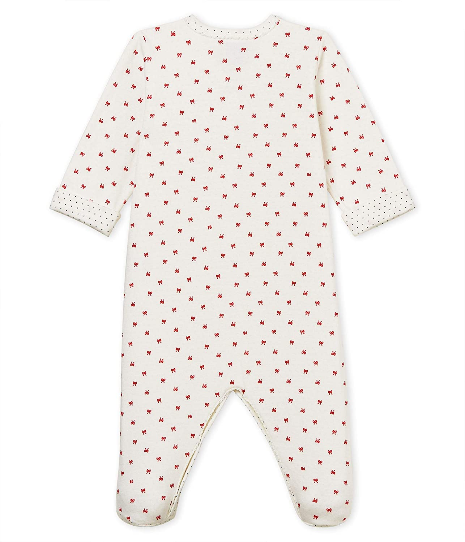 Petit Bateau Baby-M/ädchen Schlafstrampler Berenice