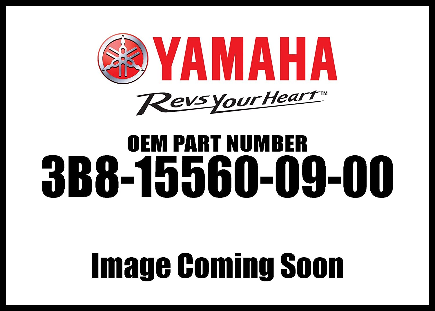 Yamaha 3B8-15560-09-00 Damper Assembly; 3B8155600900 Made by Yamaha