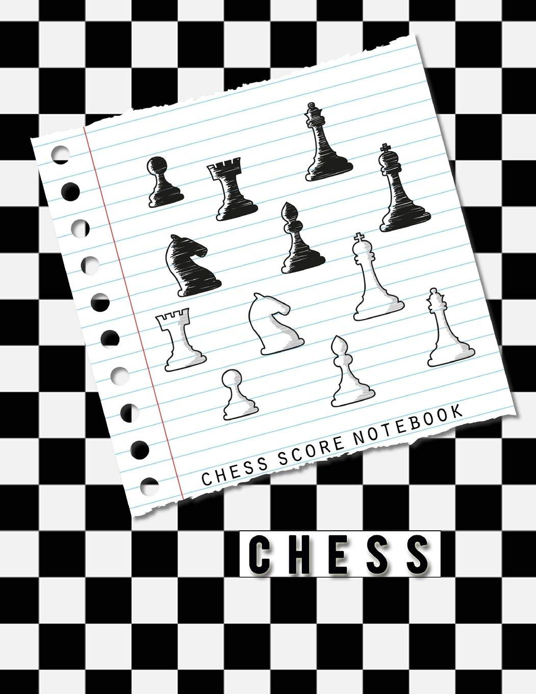 Chess Score Sheet   Chess Score Notebook Chess Game Record Keeper Book Chess