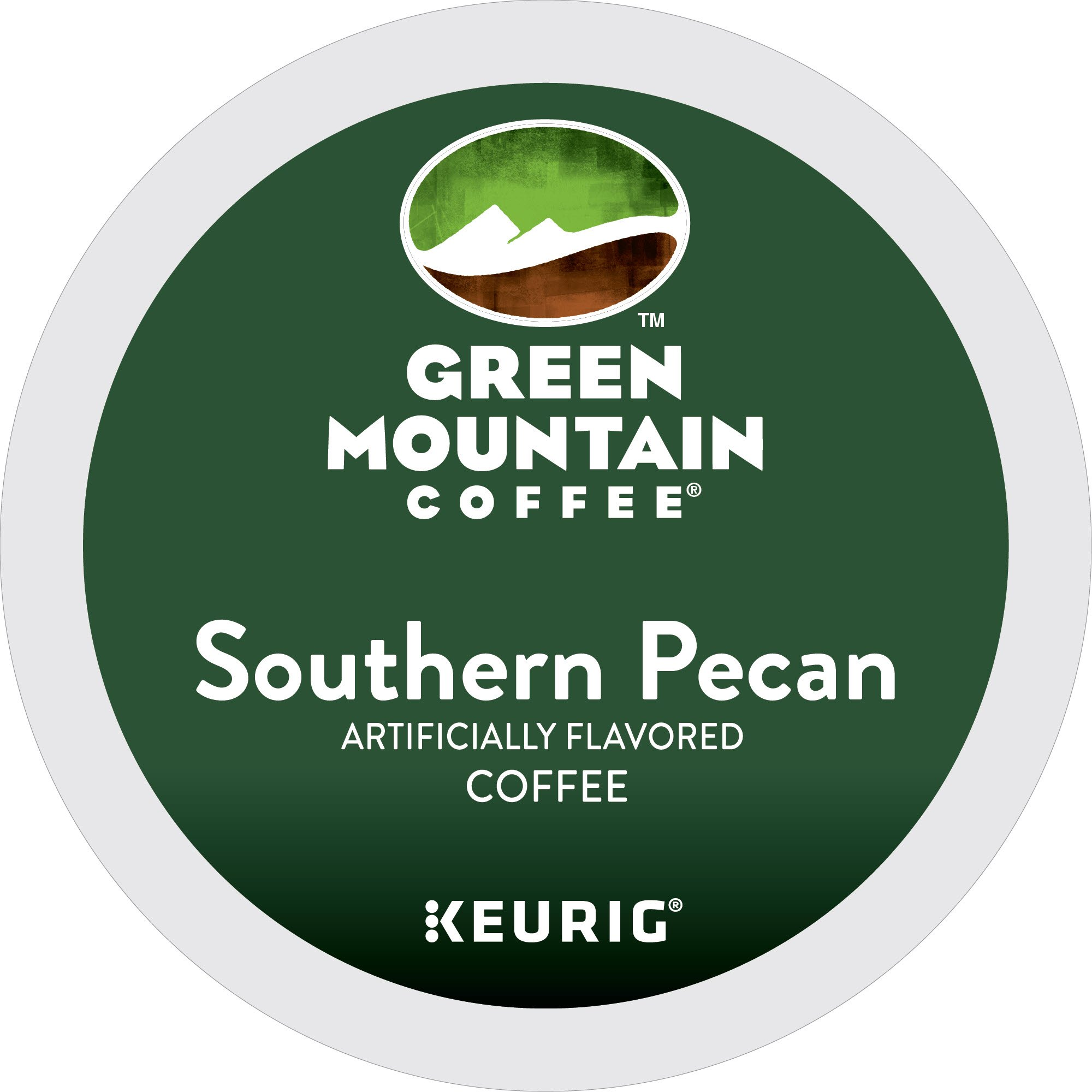 Green Mountain Coffee Southern Pecan Keurig Single-Serve K-Cup Pods, Light Roast Coffee, 24 Count