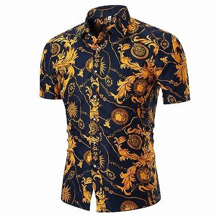 c136a7de Image Unavailable. Image not available for. Color: Men's Hawaiian Aloha  Shirt ...