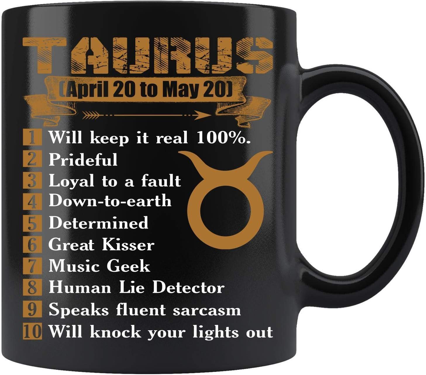 Taurus Mug Taurus Coffee Mug Funny Coffee Mug 11Oz Taurus Constellation Mug