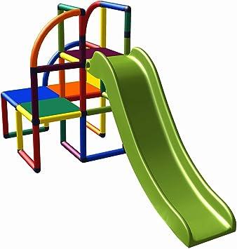 move and stic Olaf Área de Juegos Torre de Escalada con Tobogán para Niño Pequeño para Habitación Infantil Sala de Juegos o Jardín