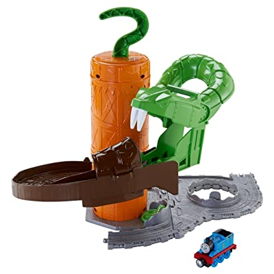 Fisher-Price Thomas & Friends Take-n-Play, Rattling Railsss Snake Ride: Toys & Games