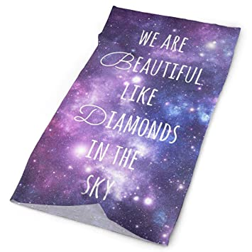 Amazon Headband Galaxy Quotes About Love Outdoor Scarf Mask Awesome Galaxy Quotes