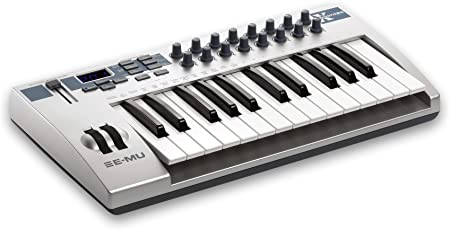 E-MU em7700 profesional controlador USB/MIDI Teclado con 25 teclas de tamaño completo