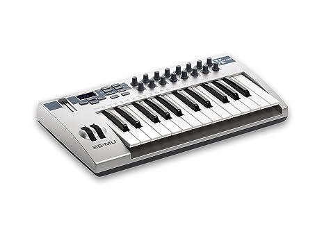 E-MU em7700 profesional controlador USB/MIDI Teclado con 25 ...