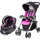 Evenflo Vive Travel System with Embrace Infant Car Seat, Daphne