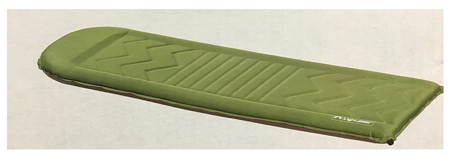 Lightspeed Outdoor Sleep Pad with Rails and Head Rest