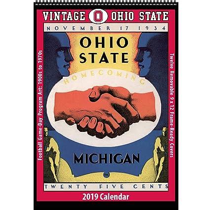 Amazon Com Vintage Ohio State Buckeyes 2019 College Football