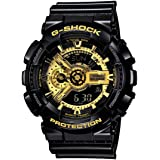 GSHOCK Men's Automatic Wrist Watch analog-digital Display and Resin Strap, GA110GB-1