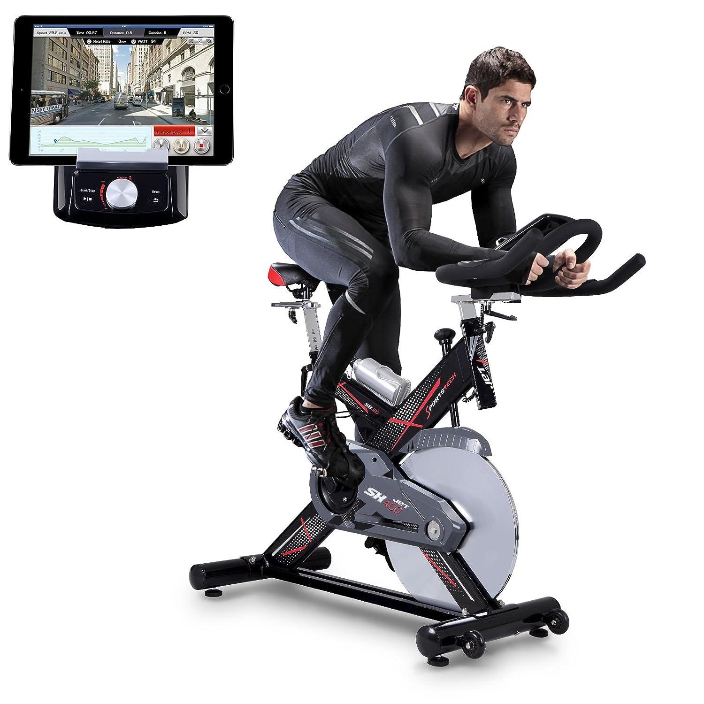 Sportstech Profi Indoor Cycle SX400 mit Smartphone App Steuerung Bild