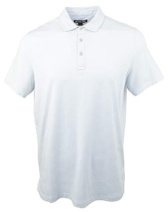 dbd853e652b15 Michael Kors Men s Bryant Stretch Pima Cotton Polo Shirt at Amazon ...