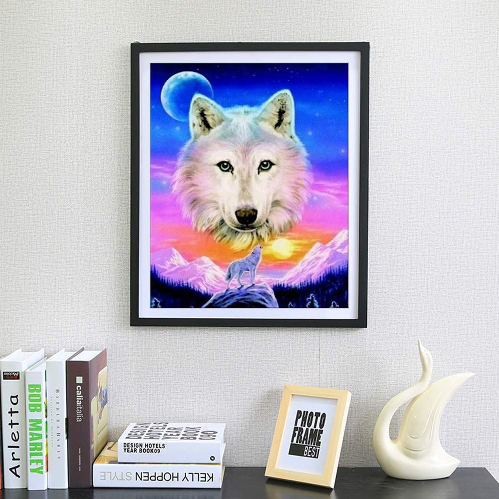 BeautyShe 5d Diamond Painting Kits for Adults Kids Set Cup Full Drill Diamond for Home Wall Decor