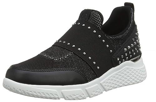Guess Namastia/Active Lady/Fabric, Zapatillas sin Cordones para Mujer: Amazon.es: Zapatos y complementos