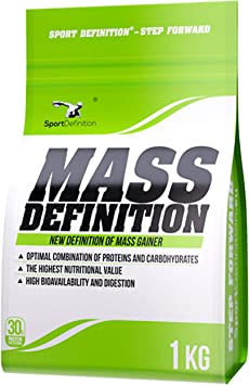 Sport Definition Mass Definition Paquete de 1 x 1000g Gainer ...