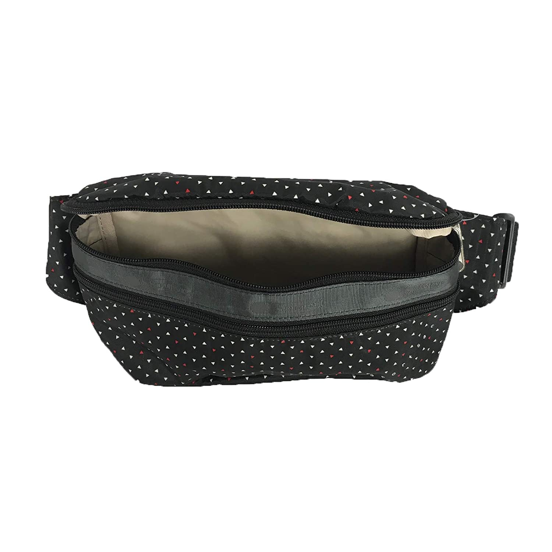LeSportsac Double Zip Belt Bag Waist Pack Poppy Seeds