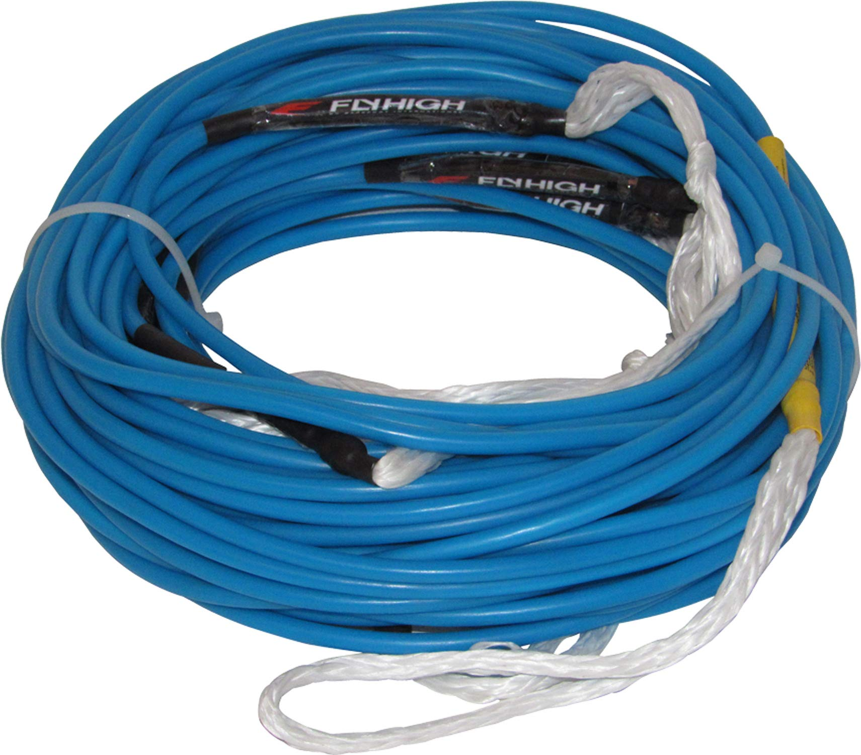 Fly High by BI Ski Rope - 95' Long Nylon Coated Spectra by Fly High