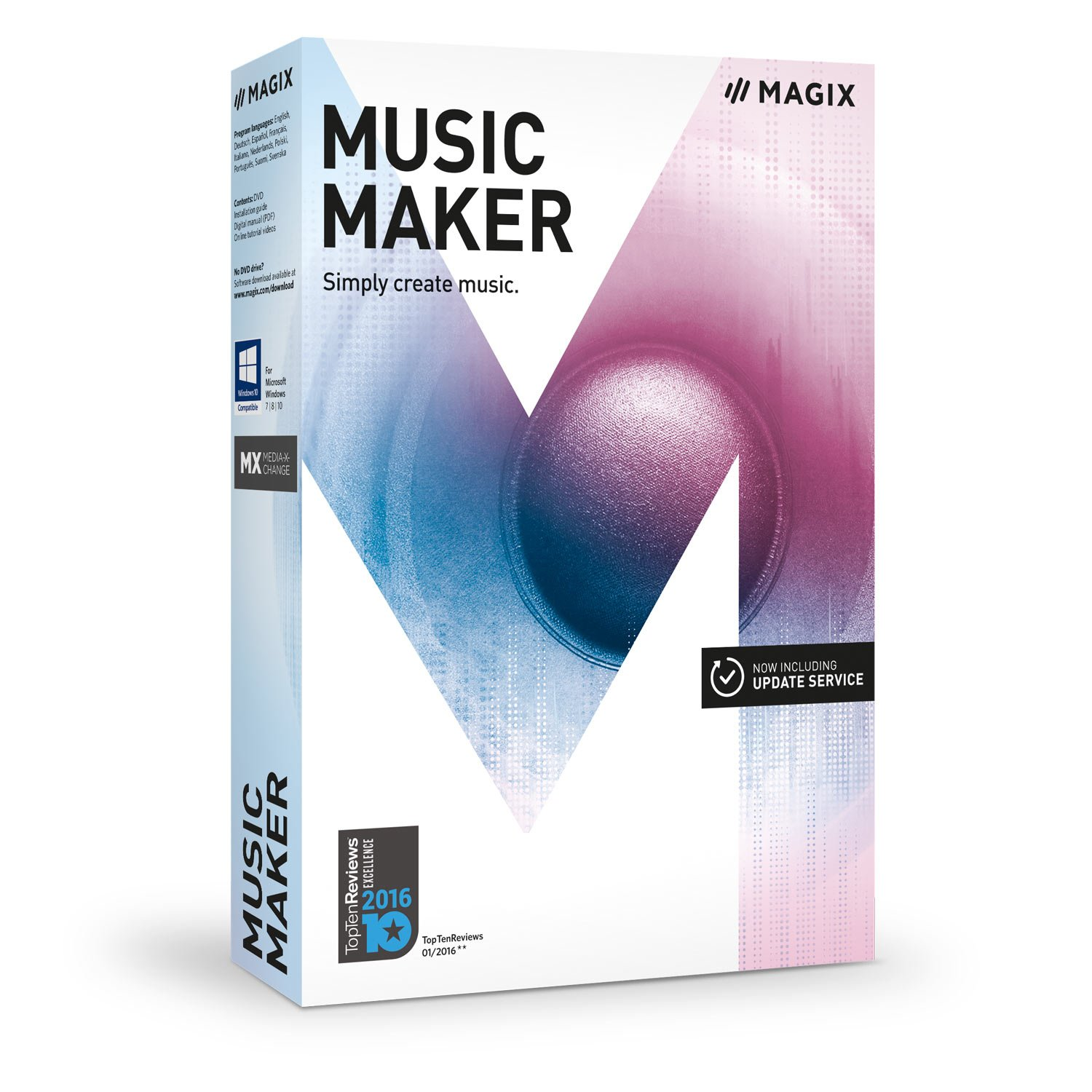 MAGIX Music Maker – 2017 Plus Edition – Make your own music the easy way by MAGIX