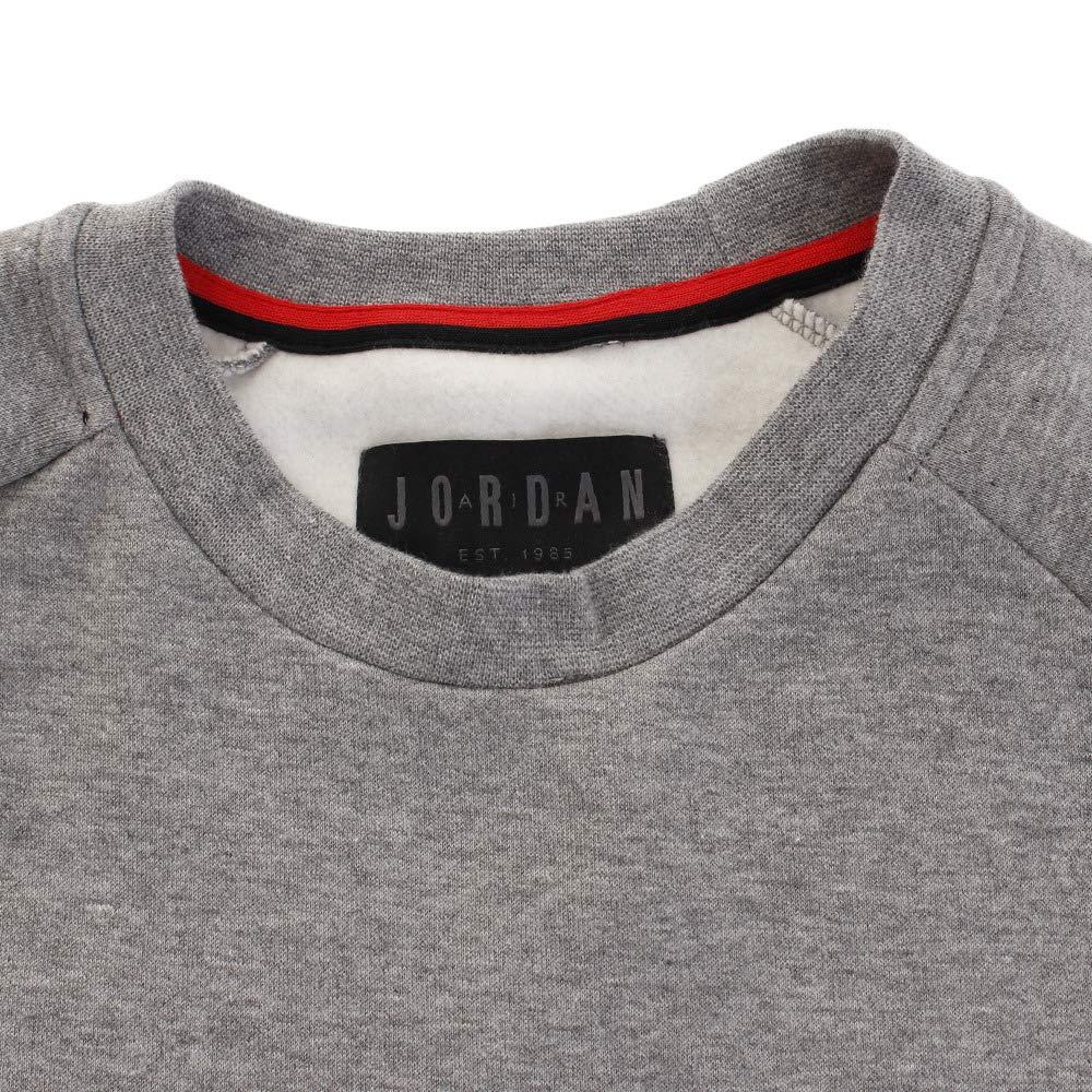 af44ba6001b Nike Mens Jordan Jumpman AIR Fleece Crew Sweatshirt at Amazon Men s Clothing  store