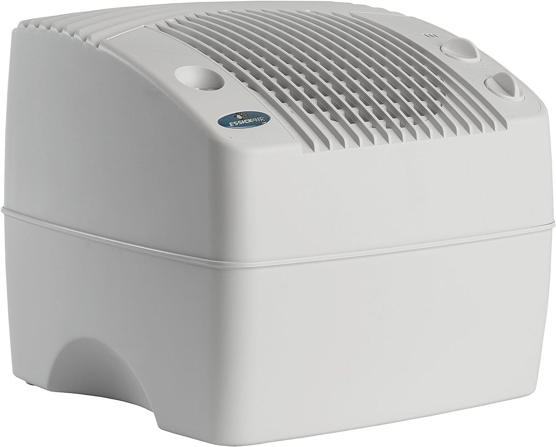 AIRCARE E35 000 2-Speed Tabletop Evaporative Humidifier, White
