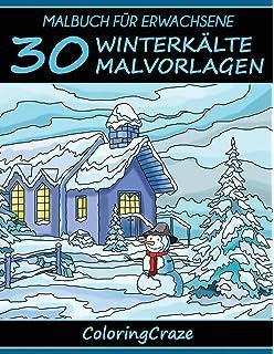 Malbuch Für Erwachsene 50 Weihnachten Malvorlagen Aus Der