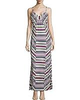 Laundry by Shelli Segal Women's Multi Stripe Jersey Dress