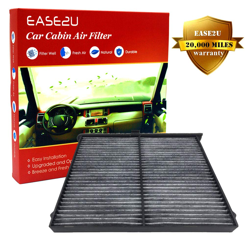 Ease2U Mazda CX-5 Cabin Air Filter for Mazda 3, 6, CX7, CX9 With Activated Carbon (20,000 Miles and 12 Months Warranty) Ease2U Direct