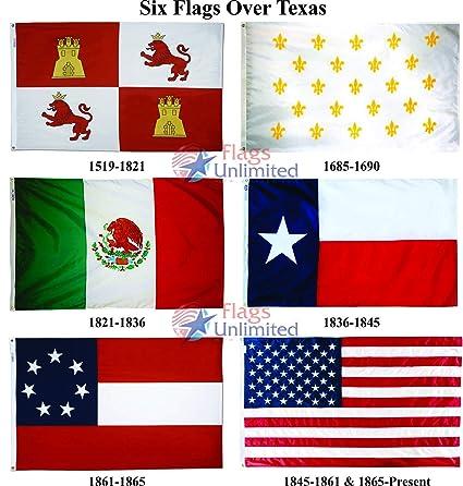 Amazon Six Flags Of Texas 6 Flag Set 3 Ft X 5 Garden Outdoor